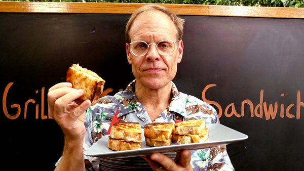 Grilled Grilled Cheese presented by Alton Brown