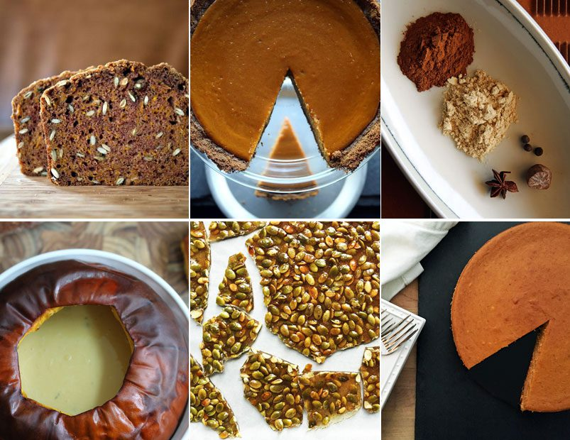 Alton Brown's Pumpkin Recipes