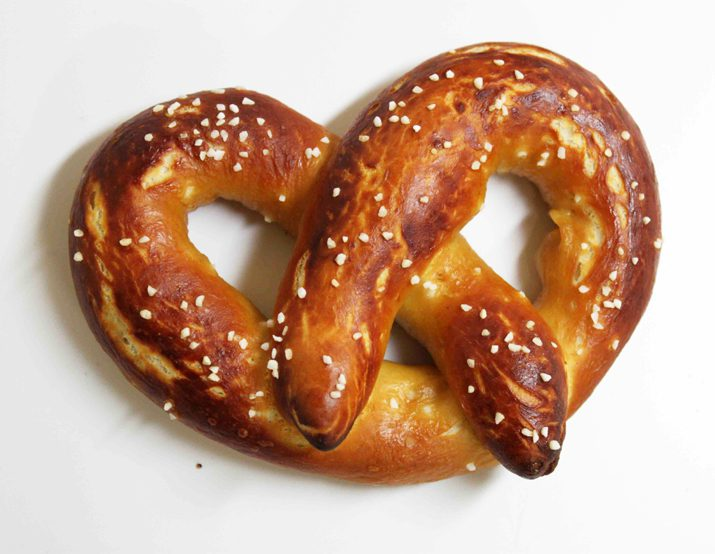 Alton Brown's Homemade Soft Pretzel Recipe