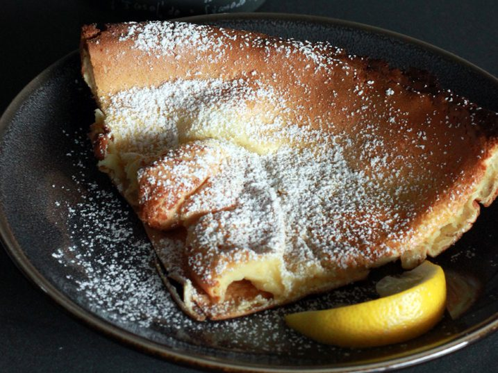 Alton Brown's Dutch Baby Pancake Recipe