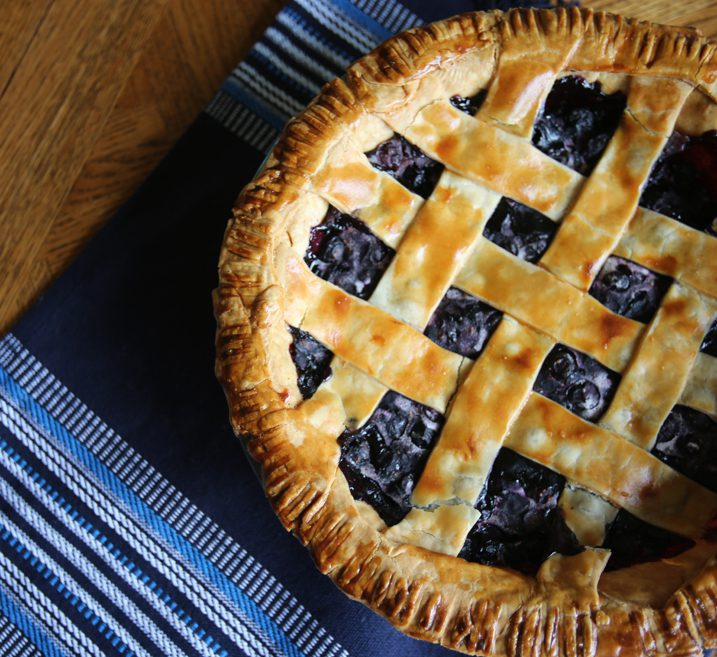 Make-Ahead Frozen Blueberry Pie Recipe