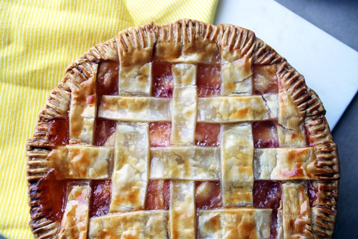 Alton Brown's Frozen Peach Pie Filling Recipe
