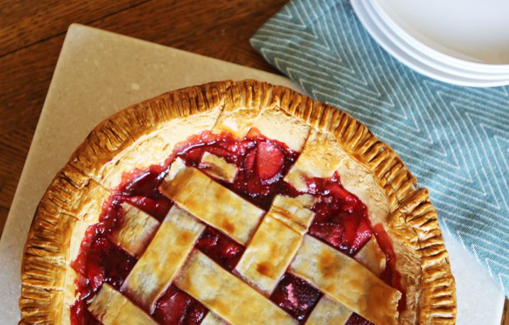 Make-Ahead Frozen Strawberry Pie Recipe
