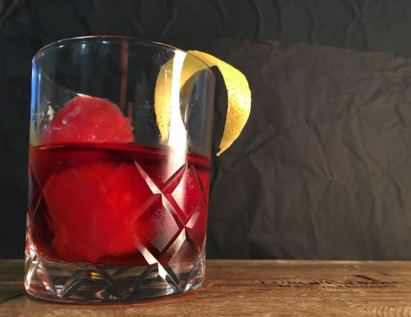 Alton Brown's Watermelon Negroni Cocktail Recipe