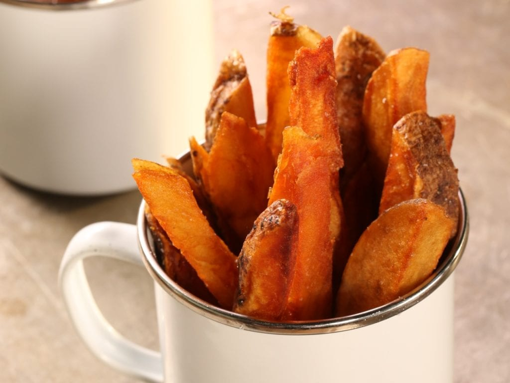 Baked Potato Fries from Good Eats Reloaded