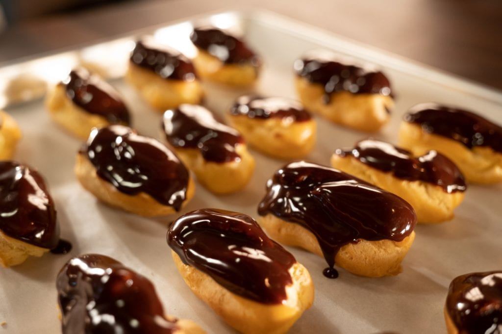 Sweet Pate a Choux used in Chocolate Eclairs Reloaded