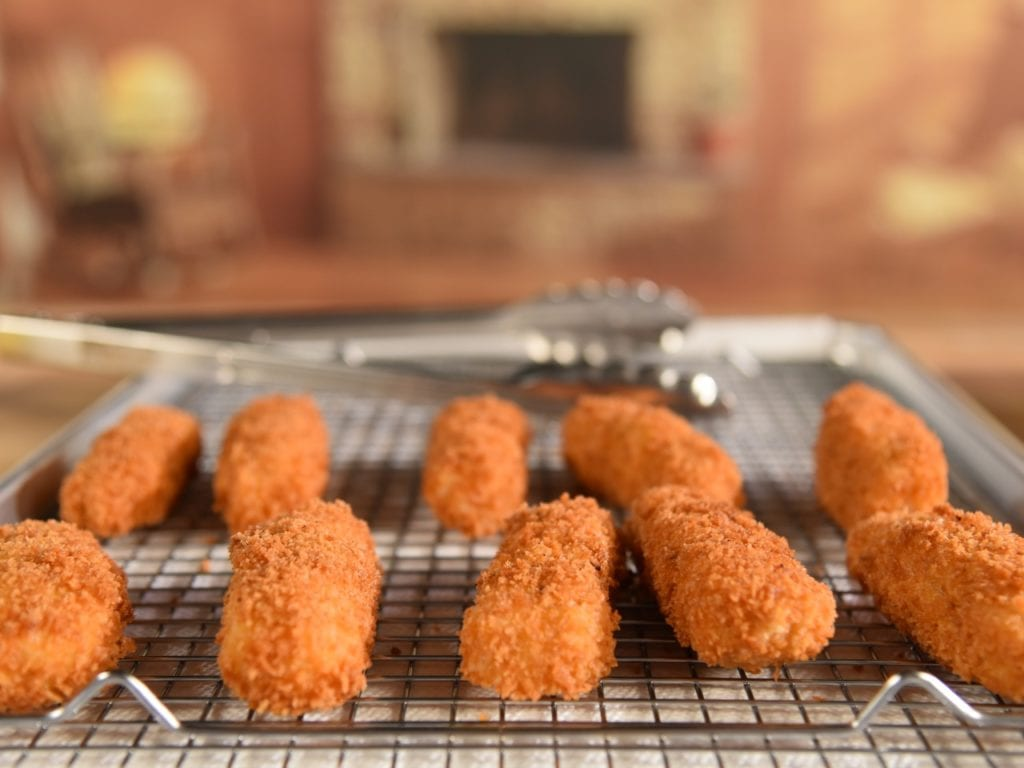 Fish Sticks aka Cod Fingers from Good Eats Reloaded