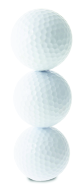 Golfballs Stacked